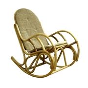 Кресло-качалка из ротанга Бриз,  Кресло качалка