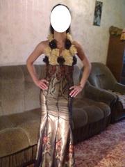 выпускное платье-эксклюзив