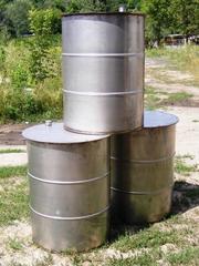 Изготовление металлических бочек под крышку с обручем из нержавейки  и другое оборудование  в Харькове по индивидуальным заказам и размерам.