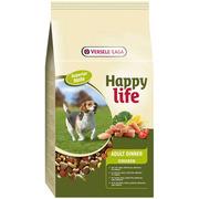 Корм для собак Happy Life для взрослых собак с курицей