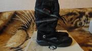 Продам сапожки Экко на ДЕВОЧКУ 32  размера в хорошем состоянии 350грив