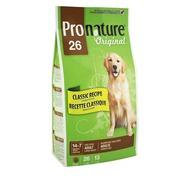Корм для собак Pronature Original для взрослых собак крупных пород