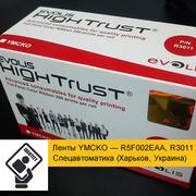 Ленты YMCKO — R5F002EAA,  R3011