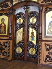 Царские Врата простые