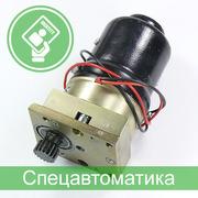 Электродвигатель и редуктор для турникета (электропривод турникета)