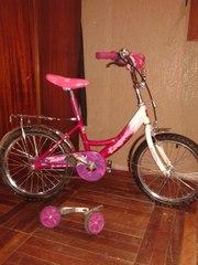 Продам детский велосипед DISNEY'ПРИНЦЕССА для девочки 4-8 лет Харьков