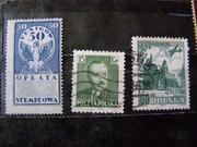 Продам коллекционные марки Америки, Германии, Польши - поштучно.