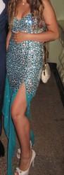 Продам вечернее платье , одетое раз на выпускной .Очень красивое !