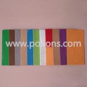 цветный полиэфирной фетр /цветной войлок