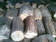 дрова дуба чурки и колотые