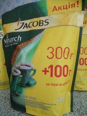 Растворимый кофе Якобс Монарх (Jacobs Monarch)
