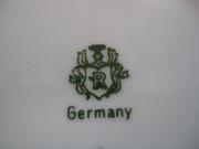 Фарфоровый сервиз (столовый + чайный) на 12 персон,  Германия,  50-е