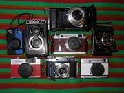 фотоаппараты пленочные времен СССР