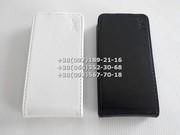 Флип чехол для Lenovo A390,  A390t (цвет черный,  белый)