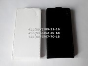 Флип чехол для Lenovo K920 VIBE Z2 Pro (цвет черный,  белый)