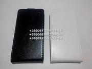Флип чехол для Lenovo S720 (цвет черный и белый)