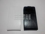 Флип чехол для Lenovo S820 (цвет белый,  черный)