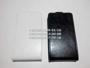 Флип чехол для LG Optimus L90,  D405,  D410 (цвет черный,  белый)