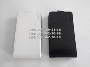 Флип чехол для Lenovo A328,  A328t (цвет черный,  белый)