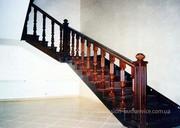Изготовление и продажа лестниц из массива дерева в Харькове.