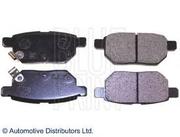 Новый комплект тормозных колодок для Toyota Corolla