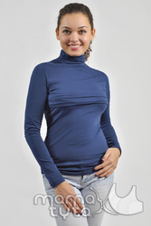 Гольф для кормления и беременных с полосками