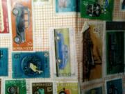 Транспортные марки СССР 88 штук 1963-1983гг