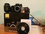 Продам Фотоаппарат Nikon D5000 + kit 18-55 (цена снижена)+бонусы