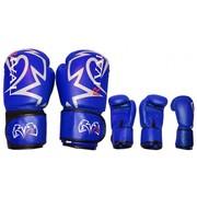 Боксерские кожаные перчатки Rival.-485гр.
