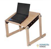 Столик-трансформер для работы на ноутбуке и завтрака в кровати