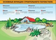 Цена,  продажа армированного геотекстиля в Харькове и Украине.