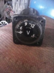 Вольтметр 0-150в, военный400гц