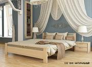 Кровать из дерева Афина