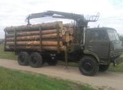 Услуги лесовоза с манипулятором по Харькову и области.