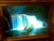 Продам Картину Водопад в Хорошем Состоянии Музикальная