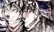 Продам Картину Волки