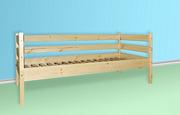 Одноярусная кровать Комфорт из сосны