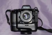 Nikon N90 с бустером МВ-10