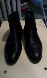 Зимние кожаные ботинки Esse 42 p