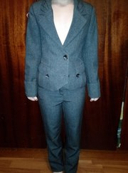 Школьная форма (Пиджак и брюки для девочки)