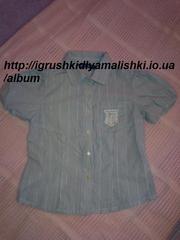 нереально классная блузка original marines (Италия) на 6 лет