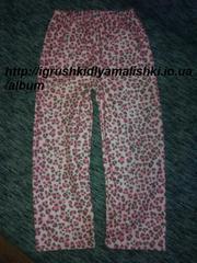 супер тепленькие пижамные штанишки primark на 5-6 лет,  можно меньше