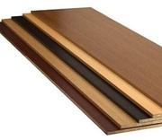 ДСП плита шпонированная толщины от 11 мм до 18 мм.