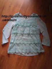 нереальной красоты нарядная блузка h&m примерно на 10 лет