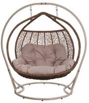 Двухместное подвесное кресло Галант для райского отдыха,  качели
