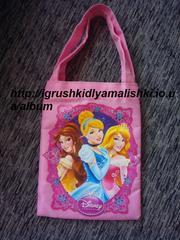 красивая сумочка с принцессами дисней disney оригинал