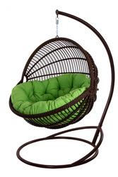 Кресло подвесное Ariel,  кресло из ротанга,  бесплатная доставка