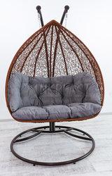 Двухместное подвесное кресло Dabl качели  для райского отдыха