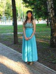 вечернее выпускное платье размер 44-46