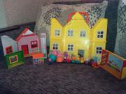 наш набор игрушек peppa pig оригинал комплектом